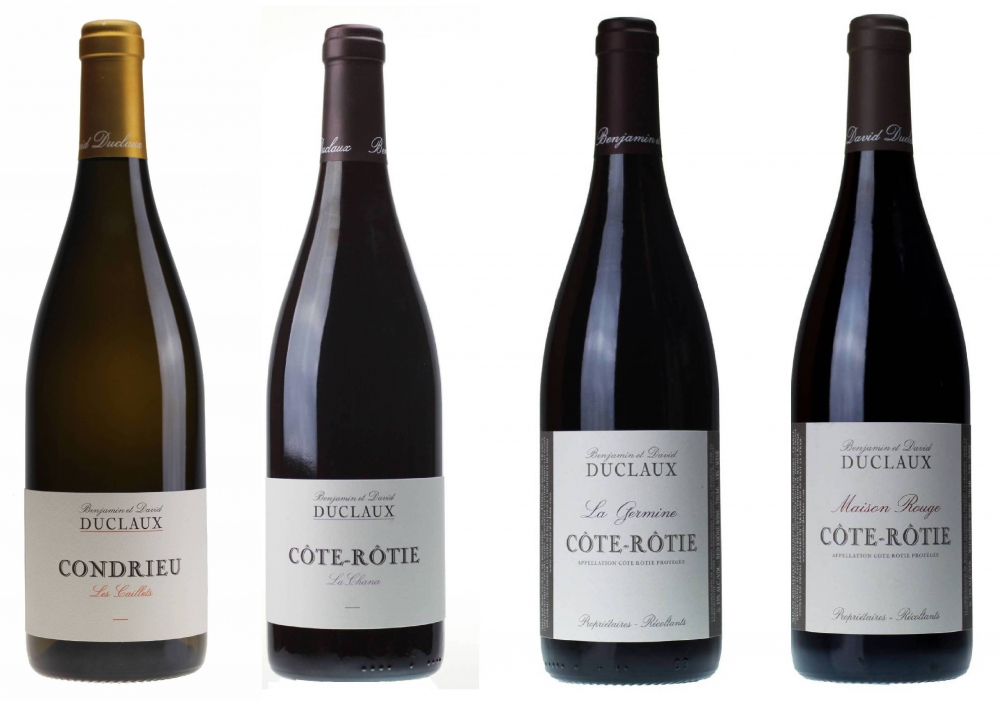 4 cuvees - Cote-Rotie and Condrieu
